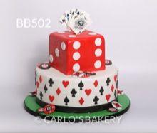 Carlo's Bakery Boy Birthday Cake, BB502