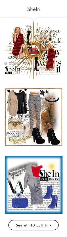 """""""SheIn"""" by dinka1-749 ❤ liked on Polyvore featuring WALL, Mirror Image Home, Gucci, Boohoo, Chanel, Balmain, 2 Lips Too, Anine Bing, RED Valentino and Laura Cole"""