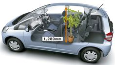 honda jazz dimensions - Google Search