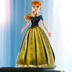 Introducing our Limited Edition Anna Doll. Available November 20, online and in select stores. Limited Edition of 2,500. #DisneyFrozen