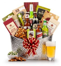 Beer gift basket do it yourself pinterest beer gifts gift and gourmet gift baskets first class beer chiller solutioingenieria Images