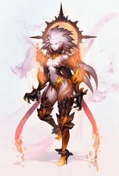 images for anime echi Fantasy Character Design, Character Design Inspiration, Character Concept, Character Art, Concept Art, Anime Fantasy, Fantasy Kunst, Fantasy Girl, Dark Fantasy
