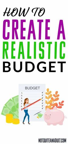 Below I have listed 7 steps to help you create a realistic budget and get you on your way to claim control of your finances. Ways To Save Money, Make More Money, Money Saving Tips, Envelope Budget System, Budgeting System, Budget Envelopes, Budget Binder, Create A Budget, Get Out Of Debt