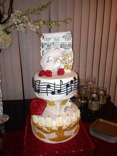 33rd bday phantom cake