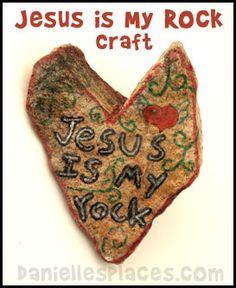 Jesus is my Rock from www.daniellesplace.com
