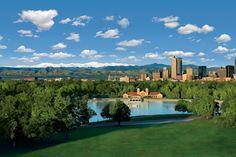 Homepage of VISIT DENVER, the Denver Tourist and Convention Bureau