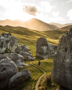 Castle Hill, Canterbury, South Island, New Zealand. : @agphotofr