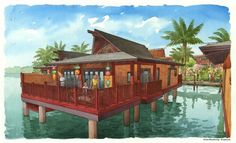 Polynesian Resort Village DVC News is here! http://land.allears.net/blogs/dnews/2014/12/disneys_polynesian_villas_and.html | #DisneyVacationClub #DVC #DisneyResort #ThePoly