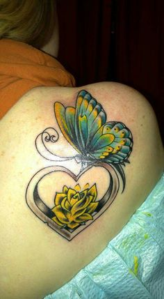1000+ ideas about Yellow Tattoo on Pinterest | Brown ... Yellow Rose With Butterfly Tattoo