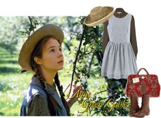 """Anne of Green Gables #1"" by theatreghost ❤ liked on Polyvore"