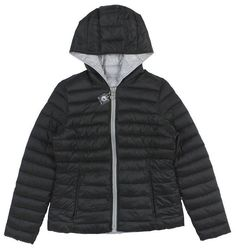 NAUTICA Black Hooded Reversible Packable Down Coat Jacket Size XL MSRP: $150 #Nautica #Puffer