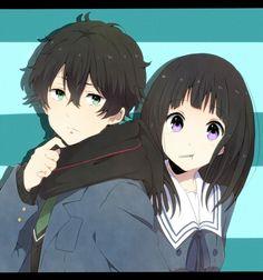 Tags: Anime, Hyouka, Chitanda Eru, Oreki Houtarou, Eikichi (Yukiti09), Nase Hiromi (Cosplay), Nase Mitsuki (Cosplay)