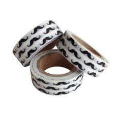 Masking tape moustache also available at DaWanda!