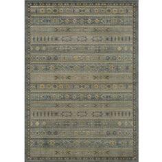 Preston Blue Gabbeh Rug (7'10 x 9'10) $278.99