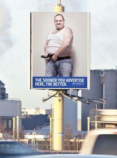 Leuke campagne om bedrijven erop te wijzen dat het billboard beschikbaar is