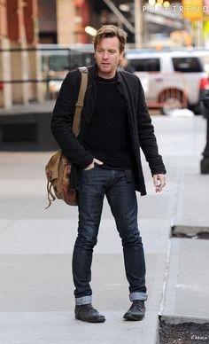 Men's Style Icon: Ewan McGregor