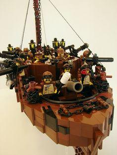 lego steampunk | Uchronys©, Site & Forum du Playm Art© Créations à partir de jouets ...