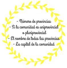 La mademoiselle du FLE: Ciencias Sociales: Las Comunidades Autónomas Ideas, Socialism, Social Science, Stencils, Fle, Thoughts