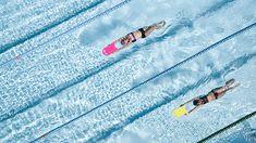 Como pez en el agua, el bañador de natación Jade Jun de Nabaiji es muy resistente al cloro y permite nadar más de 200 horas con un uso regular. #Swim #Deporte #Decathlon Decathlon, Swimming, Dreams, Swimmers, Fish, Plunging Neckline, Deporte, Aqua, Swim
