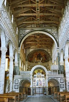 Santa Maria Novella - my favorite church in Italy because the interior reminds me of Thief and the Cobbler