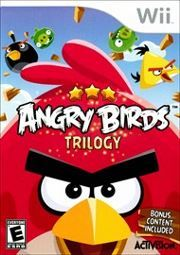 Angry Birds Trilogy for Wii!