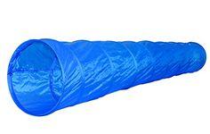 Aus der Kategorie Agility -Ausrüstung  gibt es, zum Preis von EUR 35,80  Hunde Agility Training 2 Übungen : Spieltunnel Bello , Pop UP , 300 cm lang x 40 cm PVC abwaschbar GRATIS FRISBEESCHEIBE ; 23 cm Durchmesser mit einfarbigen Aufdruck aus Kunststoff