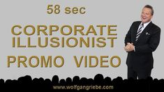 Corporate Magician 2018 Promo Teaser: Wolfgang Riebe