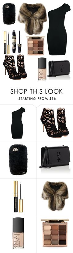 """""""Untitled #48"""" by baby-jay-love96 ❤ liked on Polyvore featuring Boohoo, Yves Saint Laurent, Max Factor, NARS Cosmetics and Stila"""