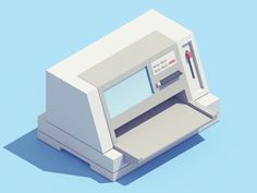 First piece of my new 3D/animation project! http://electronicitems.tumblr.com
