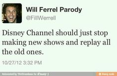 I agree with this sooo much. At least Nickelodeon gets it.