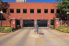 Our 3 Level Parking Garage with gated access!