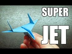 Como hacer un SUPER JET con TURBOS | Aviones de papel paso a paso (Muy f...