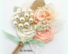 light green, peach, gold, and ivory weddings - Google Search