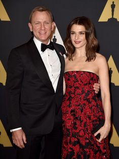 Daniel Craig & Rachel Weisz Attend the Academy of Motion Picture Arts and Sciences' annual Governors Awards at The Ray Dolby Ballroom at Hollywood & Highland Center in Hollywood, California on (November Jenna Dewan, Penelope Cruz, Rose Leslie, Brad Pitt, Hollywood Stars, Hollywood Couples, James Bond, Celebrity Couples, Celebrity Style
