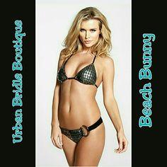 ❤Host Pick❤ Sale!!! -Gunmetal Beach Bunny bikini *Host Pick - Best in Swimwear 3/04* NWT Limited edition Gunmetal Beach Bunny bikini. Sold out everywhere! Great deal! Scrunch bottom brazialian style. Please see sizing chart. Message me with any questions! Xo Beach Bunny Swim Bikinis