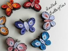 This craft tutorial teaches you how to make these beautiful paper quilling designs. With strips of quilling paper, make a couple of white teardrop coils. Instructions for making basic quilli...