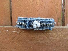 Bracelet rhinestones and pearls