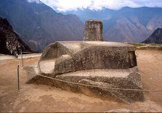 Intiwatana Stone Machu Picchu.