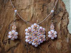 17 Outstanding Styles To Wear Beaded Tassel Earrings Opal Necklace, Heart Earrings, Beaded Earrings, Necklace Set, Beaded Jewelry Designs, Necklace Designs, Handmade Beads, Handmade Jewelry, Necklace Packaging