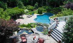 Long Island home with heated pool Cold Spring Harbor, Fish Hatchery, Heated Pool, In Ground Pools, School District, Months In A Year, Long Island, Real Estate, Outdoor Decor
