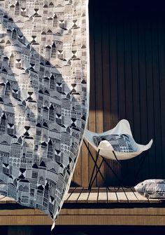 New Year, New Marimekko Pattern Textile Patterns, Textile Design, Print Patterns, Textiles, Marimekko Fabric, Palette, Butterfly Chair, Beautiful Patterns, Home