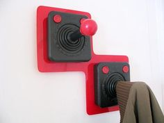 Classical ATARI Controller for Your Coat..... great for kids room.
