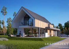 Projekty domów LK Projekt LK&1398 zdjęcie wiodące