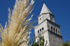 Church Tower of Gračišće Istria Croatia, Tower, Sky, Island, How To Plan, Fall, Building, Pictures, Blue