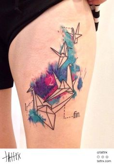 Water Color Tattoo 393 Lu Pariselli