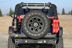 2007-2014 Jeep JK Signature Series Shorty Rear Bumper w/ Generation 4 Tire Carrier