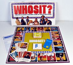 vintage board game - Whosit - Parker Brothers - 1976