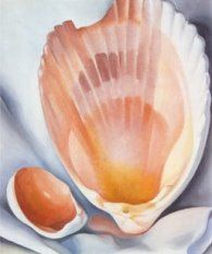 Georgia O Keeffe's Most Famous Painting | Georgia O' Keeffe's Seashell Paintings