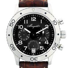 Breguet Transatlantique Type XX 3820ST Chronograph Mens Watch