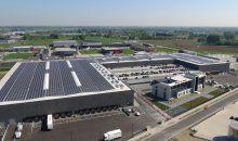 State-of-the-art EMEA distributiecentrum van Hitachi Data Systems in Zaltbommel. 31.000 m2 distributiecentrum met productiefaciliteiten en loft kantoor bestemd voor de EMEA regio (Europa, Midden-Oosten en Afrika).